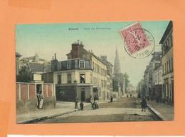 CPA - Elbeuf  - Rue Du Neubourg - Elbeuf