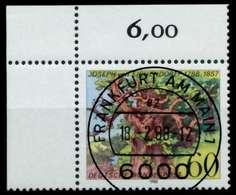 BRD 1988 Nr 1356 Zentrisch Gestempelt ECKE-OLI X8B25BA - Gebraucht