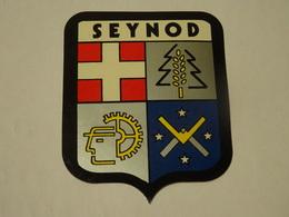 Blason écusson Adhésif Autocollant Seynod (Haute Savoie) - Obj. 'Souvenir De'