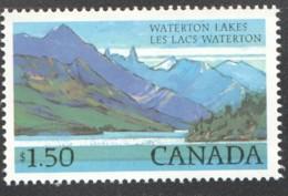 1982  Waterton Lakes Sc 935 MNH - 1952-.... Règne D'Elizabeth II