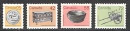 1987-8  Artefacts Definitives  Set Of 4  Sc 1080-3  MNH - 1952-.... Règne D'Elizabeth II