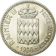 Monnaie, Monaco, Rainier III, 10 Francs, 1966, SPL, Argent, Gadoury:MC155 - 1960-2001 Nouveaux Francs