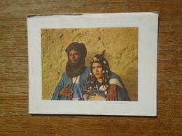 Carte Faire Part Assez Rare , Maroc , Types Reguibat De La Région De Goulimine - Morocco