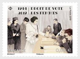 France 2019 - Droit De Vote Des Femmes Mnh - Cruz Roja