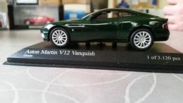 Minichamps Aston Martin Vanquish 2002 Limited Edition Of 3120 Pcs. - Minichamps