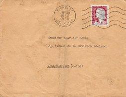 LSC 1960 - Cachet MICHELET - TIZI OUZOU / Au Dos Griffe Hôpital Ste Eugénie - Algérie (1924-1962)