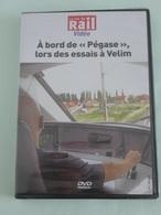 """Abord De """"PEGASSE"""" (AVG Alstom)  Lors Des Essais à VELIM (République Tchéque) - DVD La Vie Du Rail - Autres"""
