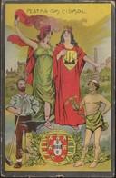 Postal Portugal - Lisboa - Republica Portuguesa - Romarias - Festas Da Cidade - Lisboa