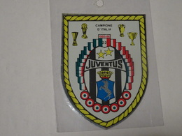 Blason écusson Adhésif Autocollant  Logo Juventus Torino Turin  Adesivi Stemma Aufkleber Wappen - Obj. 'Souvenir De'