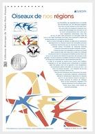France 2019 - Europa 2019 - Les Oiseaux De Nos Régions (Document Philatélique) - Cruz Roja