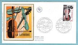 FDC France 1979 - La Lutherie - YT 2072 - Paris & 88 Mirecourt - FDC