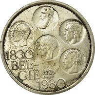 Monnaie, Belgique, 500 Francs, 500 Frank, 1980, Bruxelles, TB+, Silver Clad - 1951-1993: Baudouin I