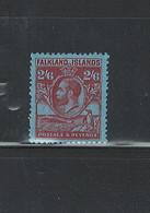 FALKLAND ISL 1929 - 1931 MH #61 C.V. $70.00 S.G. C.V.=GBP85.00 - Falkland Islands