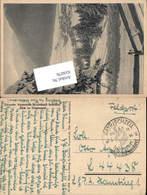 WK 2 Feldpost Deutsche Alpenstraße Bayrischzell Sudelfeld Luftgaupostamt Hamburg - 1939-45