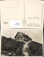 615990,Foto Ak Heufuderbaude Stog Bad Flinsberg - Polen