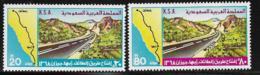 Saudi Arabia Scott # 769-70 MNH Highway, 1978 - Saudi Arabia
