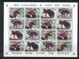 PNG 2003 WWF Tree Kangaroos Sheetlet MUH - Papua New Guinea
