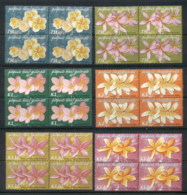 PNG 2005 Flowers Frangipani Blk4 MUH - Papua New Guinea