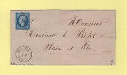Beaufort Du Jura - 38 - Jura - 11 Juin 1860 - Sans Correspodance - 1849-1876: Période Classique