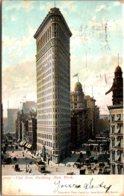 New York City Flat Iron Building 1905 - New York City