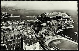 Monaco  -  Le Rocher  -  Ansichtskarte Ca. 1960   (10573) - Hafen
