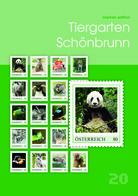 Austria 2019 - 'Tiergarten Schönbrunn' Marken Edition 20 Selbstklebend - Blocs & Hojas