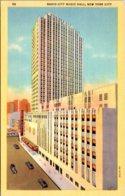 New York City Radio City Music Hall Curteich - New York City