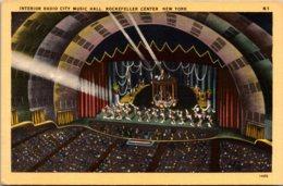 New York City Rockefeller Center Radio City Music Hall Inerior - New York City