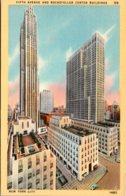 New York City Rockefeller Center And Fifth Avenue - New York City