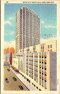 New York City Rockefeller Center Radio City Music Hall 1940 - New York City