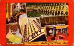 New York City Rockefeller Center Radio City Music Hall Interior Views 1952 - New York City