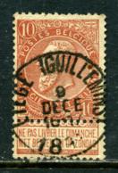 Belgique COB 57 ° Liège Guillemins - 1893-1900 Fine Barbe