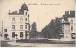 Vilvoorde - Vilvorde - L' Avenue De La Station - 1908 - Uitg. Decrée Zusters, Vilvoorde - Vilvoorde