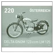 Austria 2015 - Motorräder - Delta Gnom 123 Ccm LM125 Black Proof - 1945-.... 2ª República