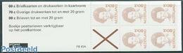 Netherlands 1991 5x80c Booklet, (Mint NH), Stamps - Stamp Booklets - Carnets Et Roulettes