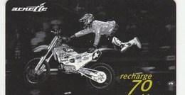 MOBICARTE  RECHARGE 70...ARNETTTE...MOTO   ..60.000 EX - France