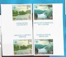 2001  222-23   NATURSCHUTZ PROTEKTION NATURA EUROPA BOSNIA REPUBLIKA SRPSKA  RRR IMPERFORATE MNH SELTEN - Environment & Climate Protection