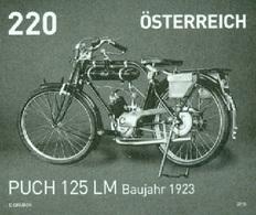 Austria 2016 - Motorräder - Puch LM Bj. 1923 Black Proof - 1945-.... 2ª República