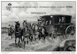 Austria Österreich 2008 - Mail Coach Black Print Proof - 1945-.... 2ª República