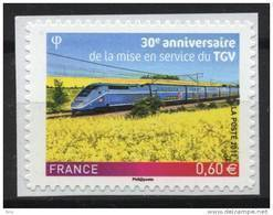 N° 603 Adhésif , TGV Valeur Faciale 0,60 Euro; Issu D'une Feuille - France
