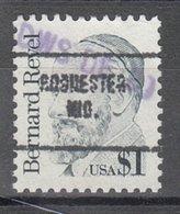 USA Precancel Vorausentwertung Preo, Locals Indiana, Rochester 704 - United States