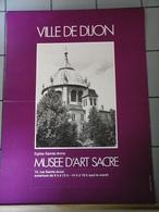 Affiches  - Ville De Dijon Eglise St Anne Musée D'Art Sacre - Affiches