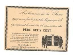 Les Hommes De La Classe 1909 - Père Deux Cent - 7224 - Humoristiques