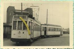 TRAM:   9753 - 19653  : Anvers - Antwerpen  7/4/1956  :         9 X 6 Cm ( See Detail ) - Trains