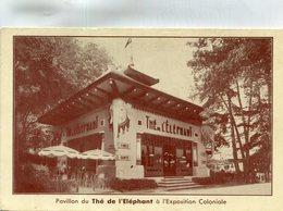 THE DE L ELEPHANT(EXPOSITION COLONIALE) TEA - Expositions