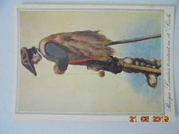 Vieilles Gravures Landaises Du 18e Siecle. Berger Tricotant Au 18e Siecle. Tout En Gardant Les Moutons.... Elce N6436 - France