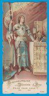 BIENHEUREUSE JEANNE D'ARC PRIEZ POUR NOUS 1412- 1431 / ECRITURE AU DOS - Images Religieuses