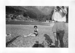 CORSE  PLAGE DE PORTO ET FLEUVE PORTO PHOTO ORIGINALE FORMAT  10 X 7 CM - Plaatsen