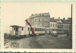 TRAM : Oostende - Ostende  1957       9 X 6 Cm ( See Detail ) - Trains