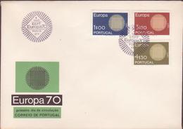 ENVELOPPE TIMBRE 1970 EUROPA VOIR PHOTO - FDC